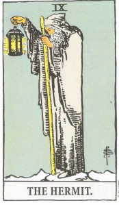 Rider-Waite Tarot: The Hermit
